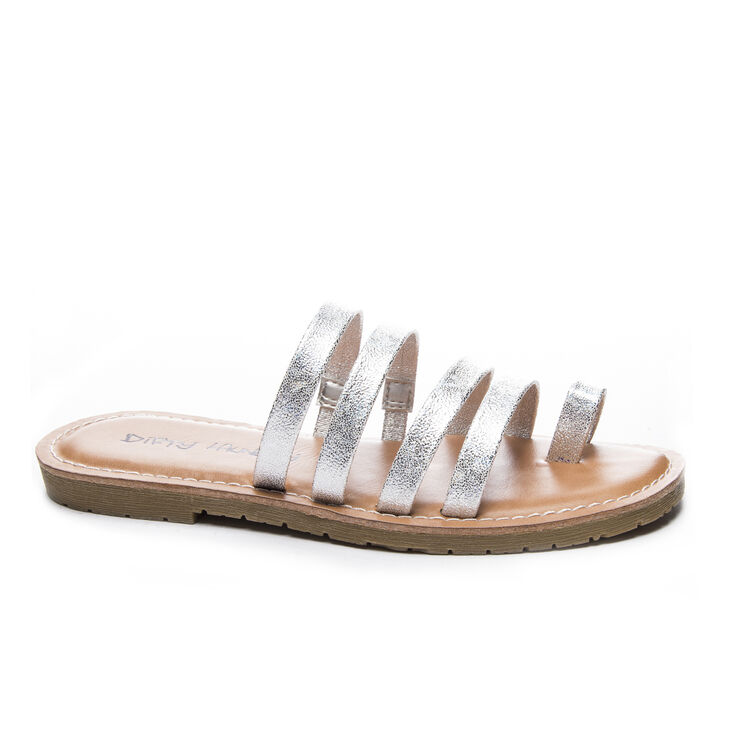 Chinese Laundry Ekia Thong Sandals in Silver