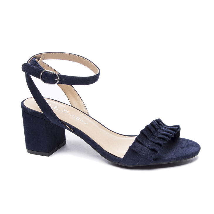 Chinese Laundry Jamz Dress Sandals in Navy