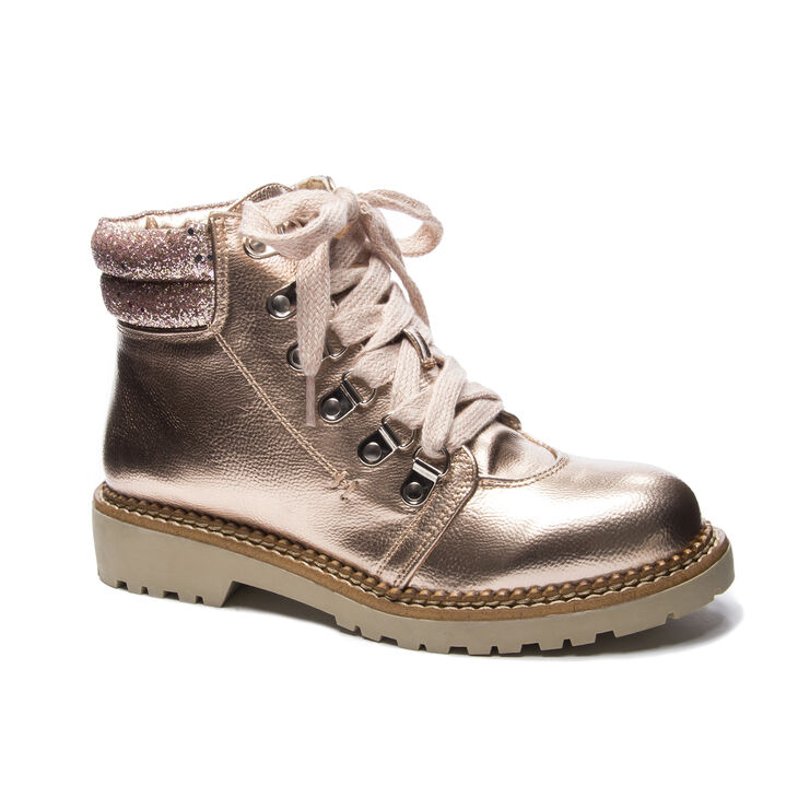 Chinese Laundry Casbah Boots in Rose Gold