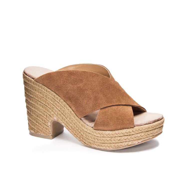 Chinese Laundry Quay Slide Heels in Rustybrown