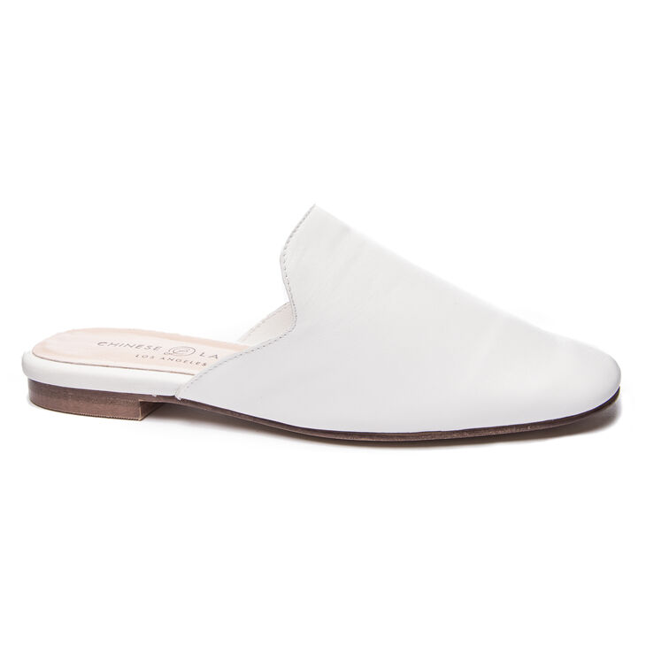 Chinese Laundry Jump To It Mule Flats in White