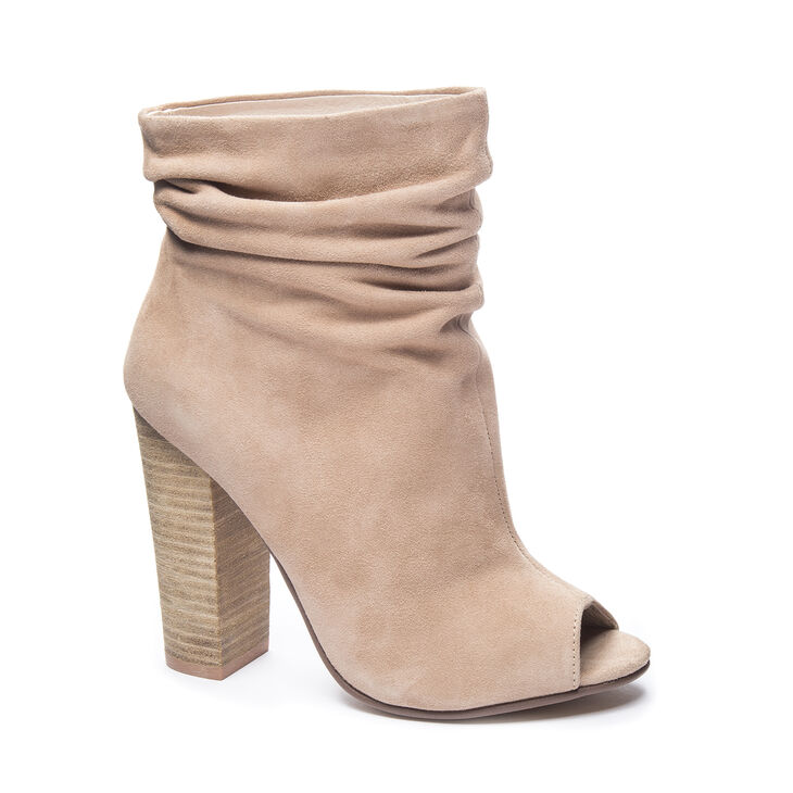 Chinese Laundry Laurel Boots in New Nude