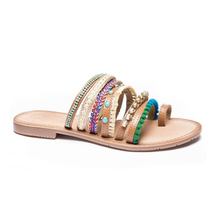 Chinese Laundry Palma Sandals in Turquoise