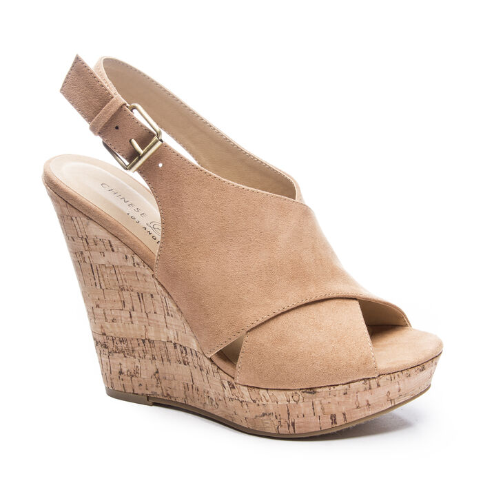 Chinese Laundry Myya Sandals in Camel