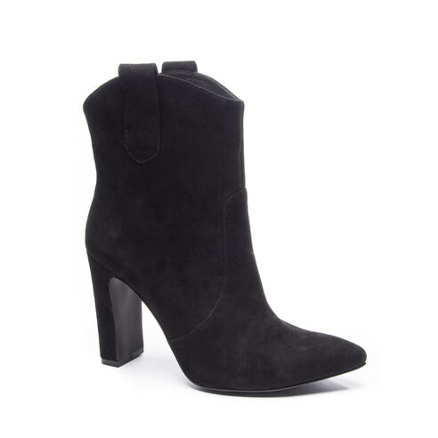 cfe405a3bce Karly Kid Suede Bootie BLACK