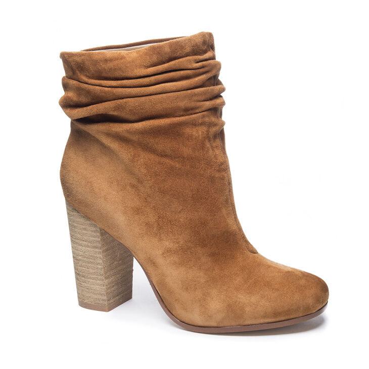 Chinese Laundry Georgie Boots in Caramel
