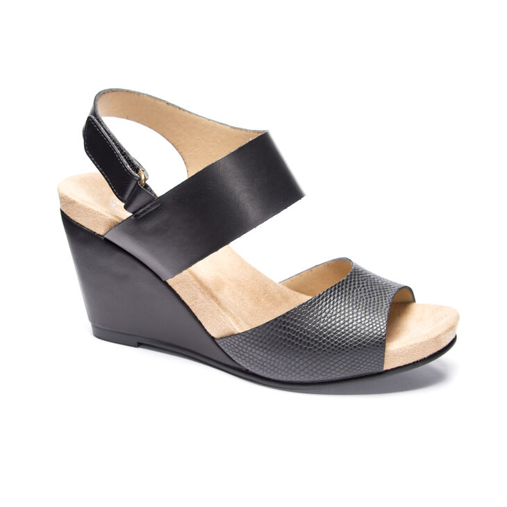 CL by Laundry Toya Wedges in Black