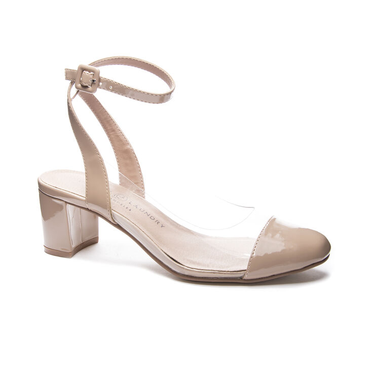 Chinese Laundry Linnie Pumps in Nude/clear