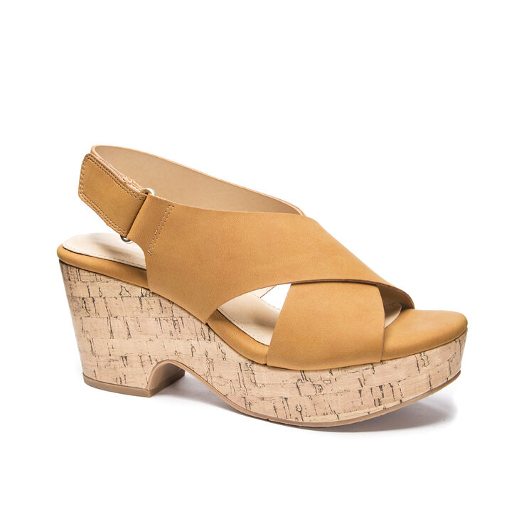 CL by Laundry Chosen Wedges in Tan