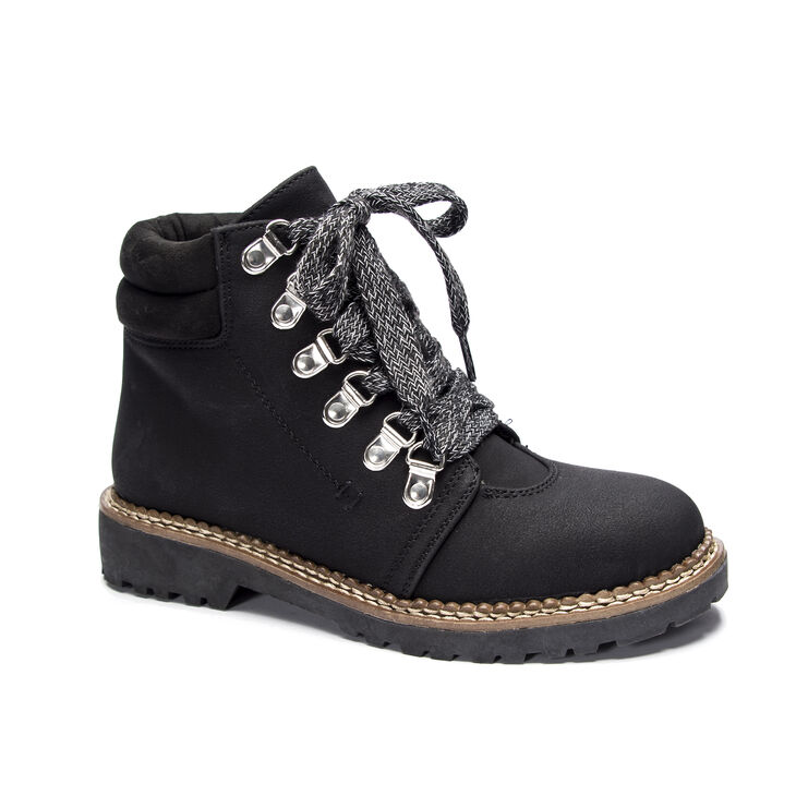Chinese Laundry Cristal Heeled Booties in Black
