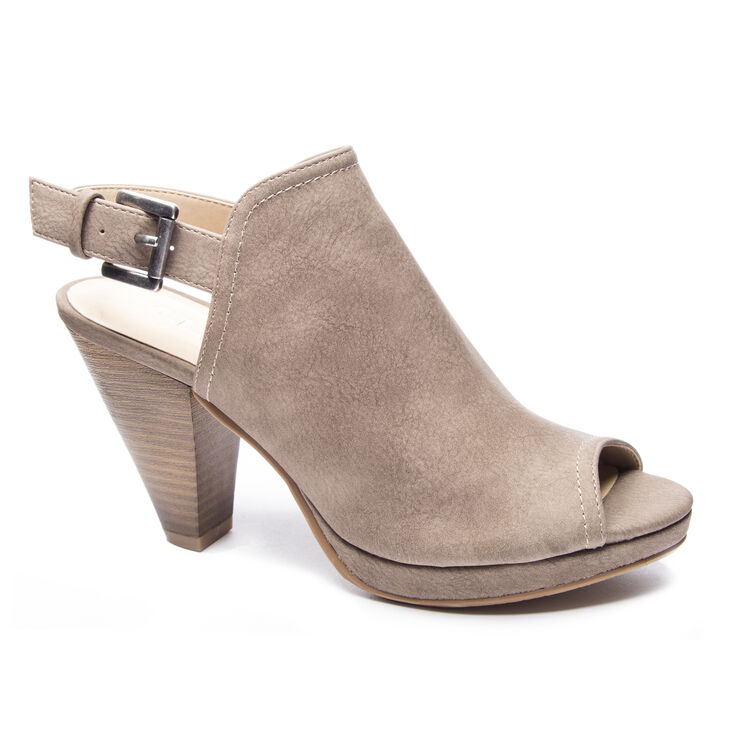 CL by Laundry Wake Up Dress Sandals in Dark Taupe