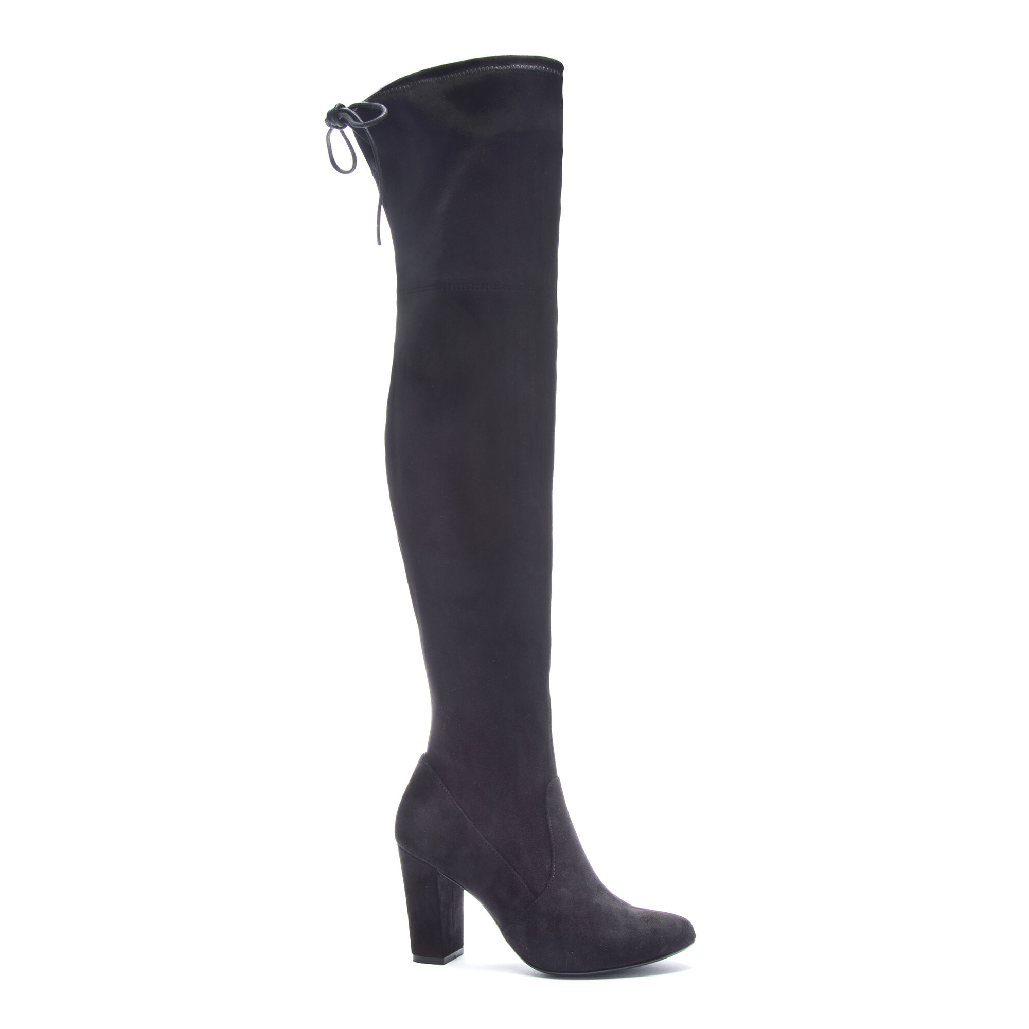 d1db50e59e206 Brinna Faux Suede Over the Knee Boot Heels | Chinese Laundry