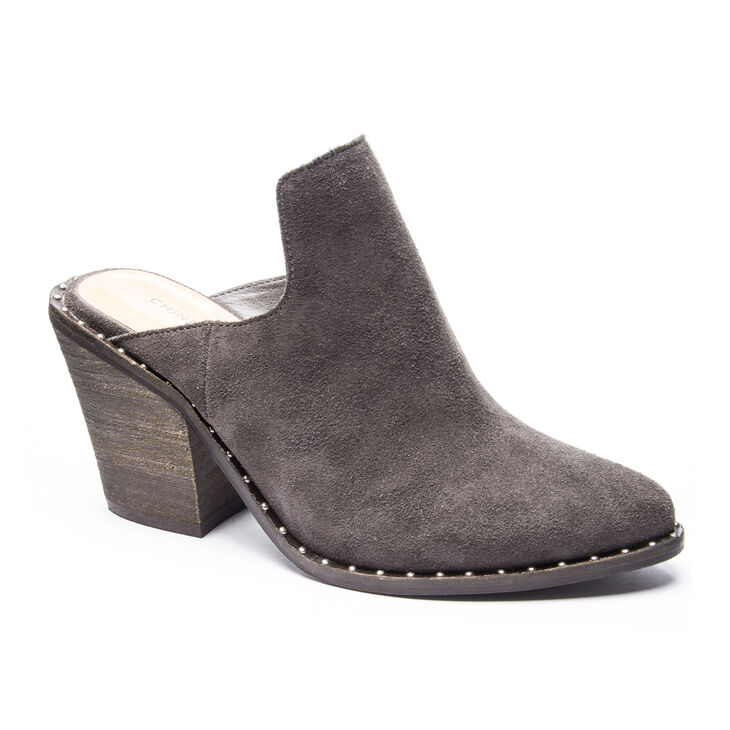 Chinese Laundry Springfield Block Heels in Charcoal