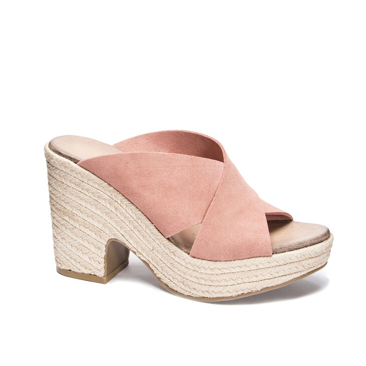 Chinese Laundry Quay Slide Heels in Clay
