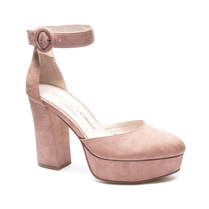 Chinese Laundry Norie Pumps in Dusty Rose