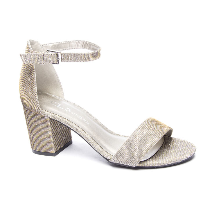 Chinese Laundry Jessie Sandals in Champagne