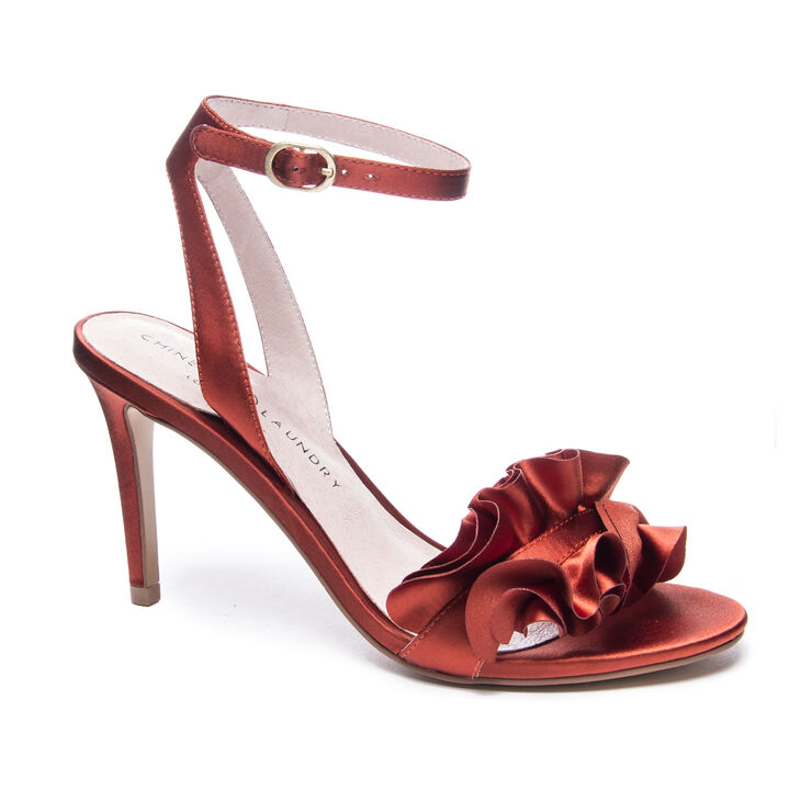 Chinese Laundry Jainey Sandals in Rust