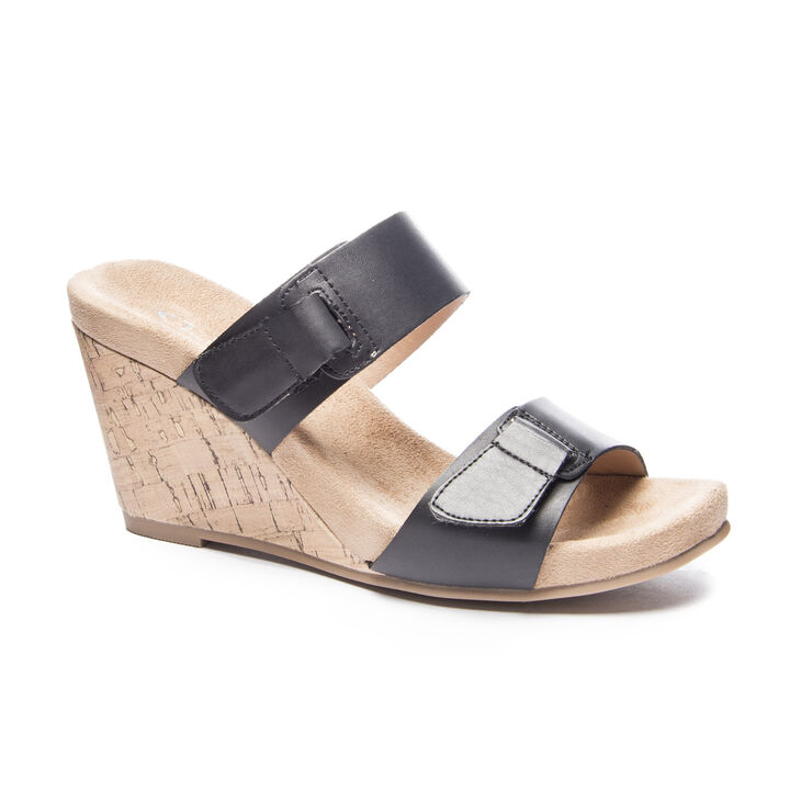 Chinese Laundry Team Player Slide Heels in Black