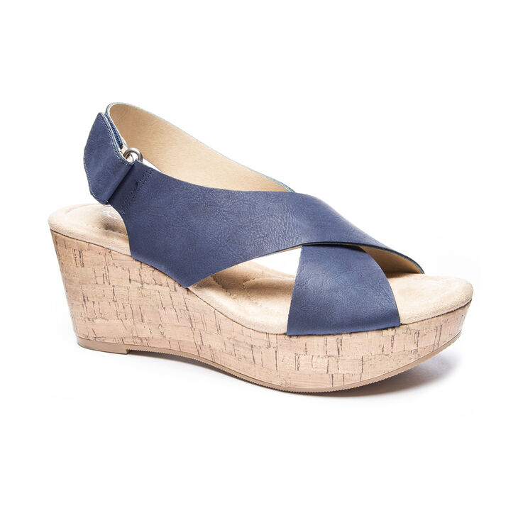 Chinese Laundry Dream Girl Sandals in Navy