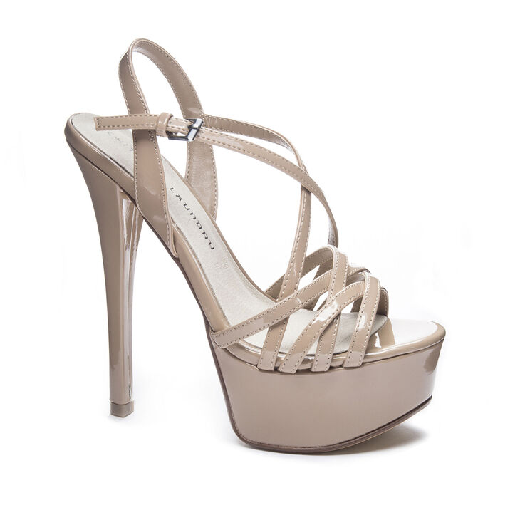 Chinese Laundry Teaser Sandals in Nude