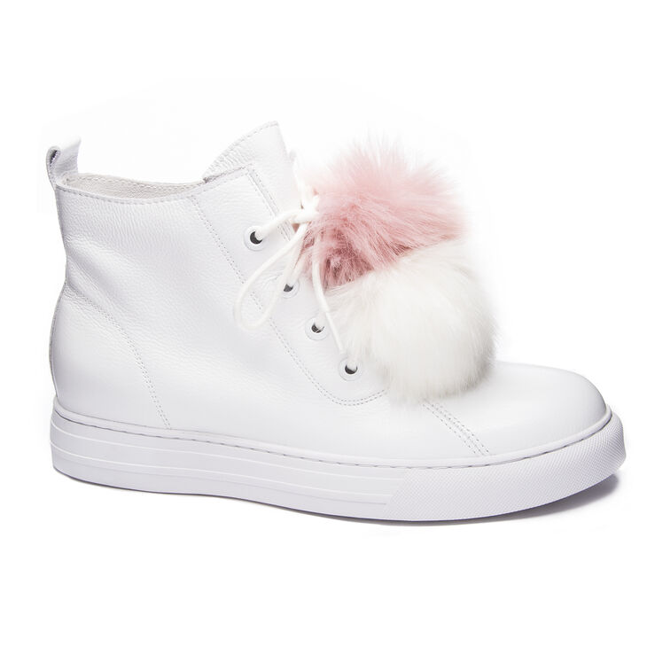 Chinese Laundry Fur Ever Sneakers in White