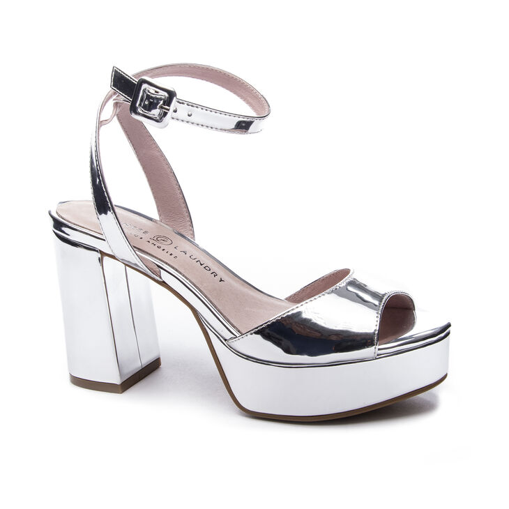 Chinese Laundry Theresa Sandals in Silver