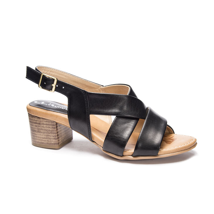 CL by Laundry Marilee Dress Sandals in Black