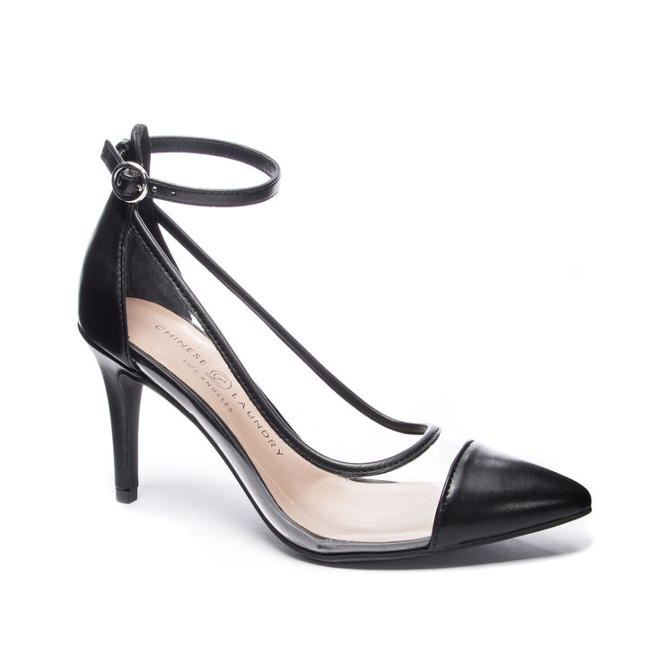 Chinese Laundry Gabrianna Pumps in Clearblack