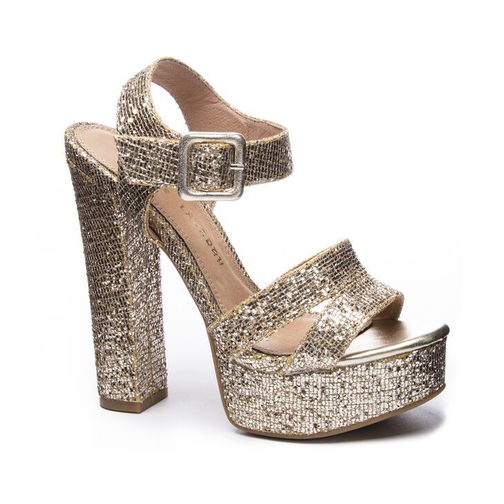Chinese Laundry Allspice Sandals in Champagne