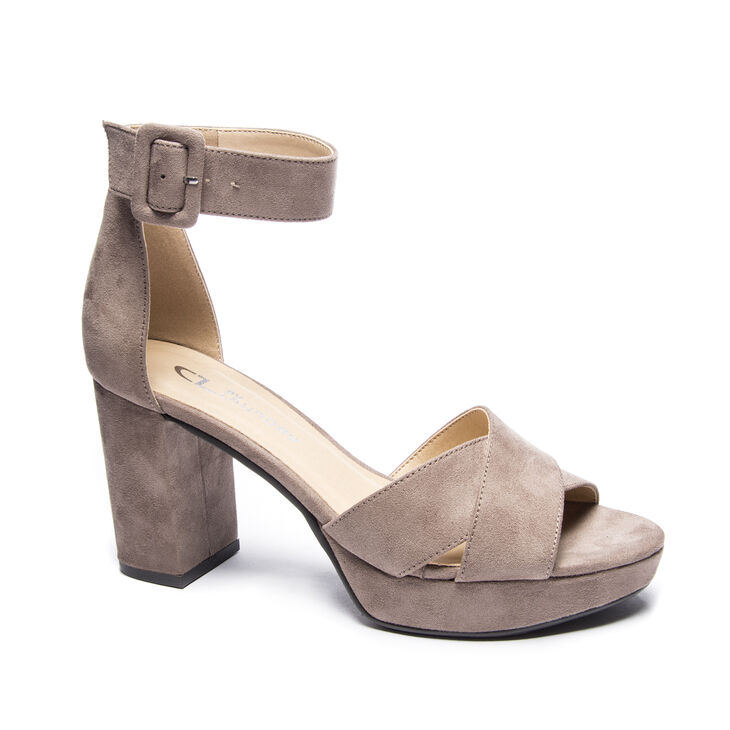 Chinese Laundry Gala Sandals in Deep Taupe