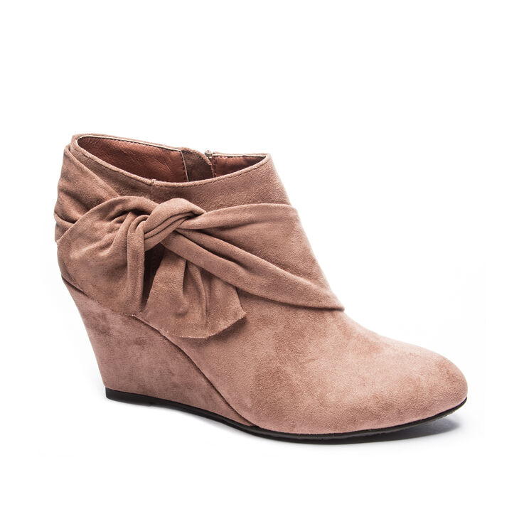 Chinese Laundry Viveca Boots in Deep Rose