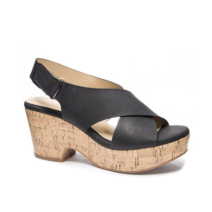 CL by Laundry Chosen Wedges in Black