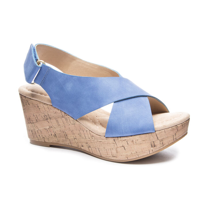 CL by Laundry Dream Girl Sandals in Denim Blue