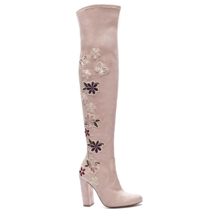 Chinese Laundry Briella Boots in Pink