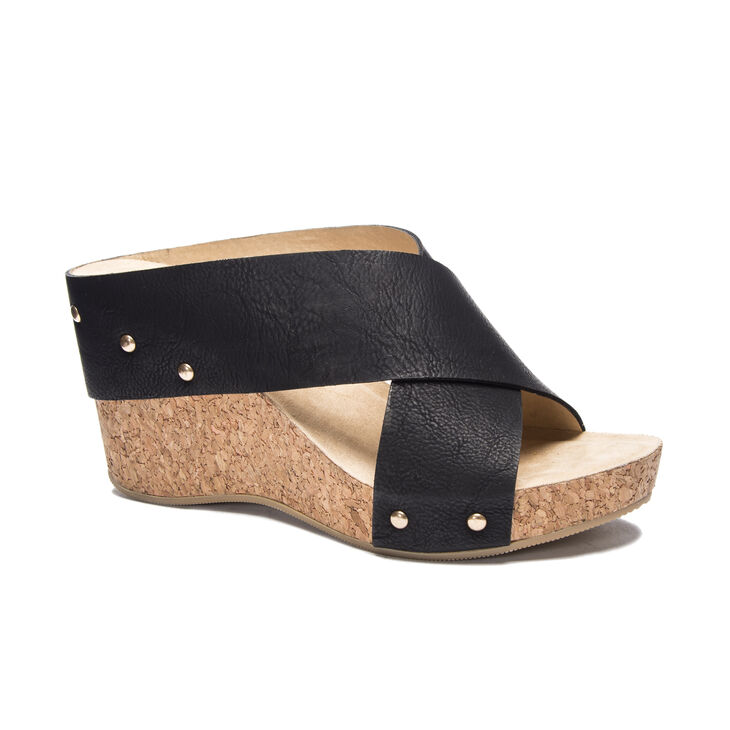 Chinese Laundry Abloom Sandals in Black