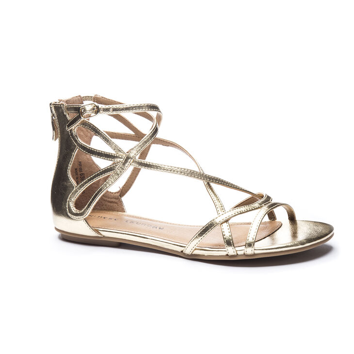 Chinese Laundry Penny Sandals in Gold
