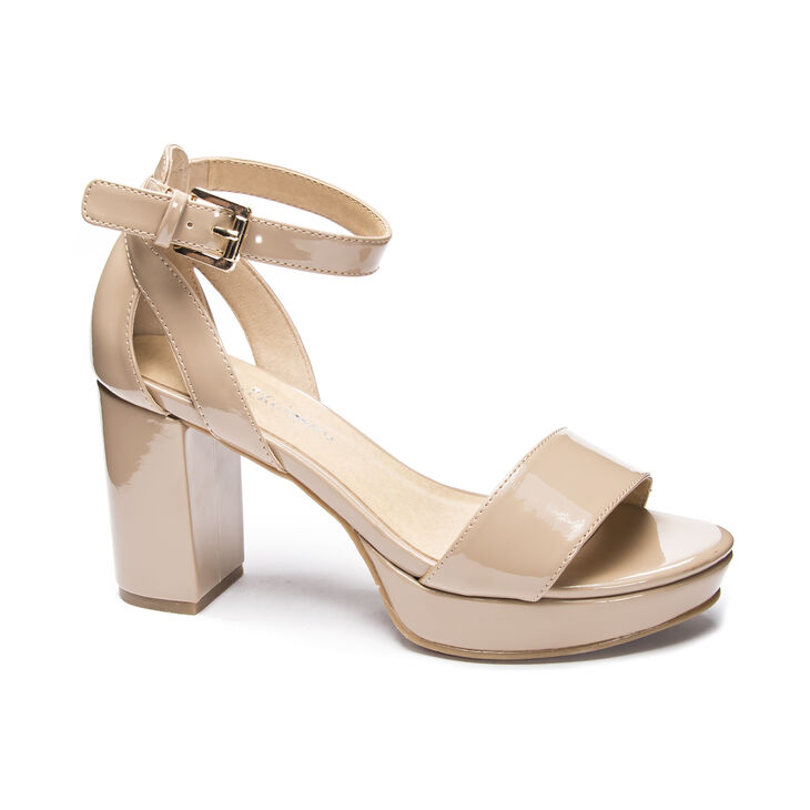 Chinese Laundry Go On Dress Sandals in Newnude