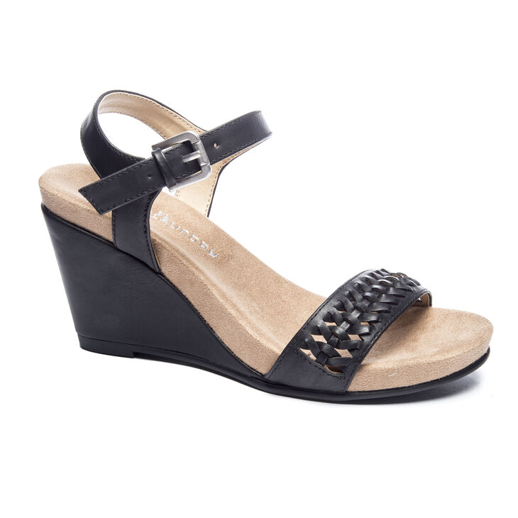 Chinese Laundry Think Sandals in Black
