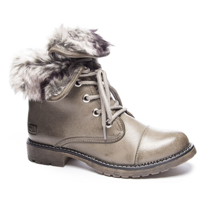 Chinese Laundry Right Time Boots in Lt Grey