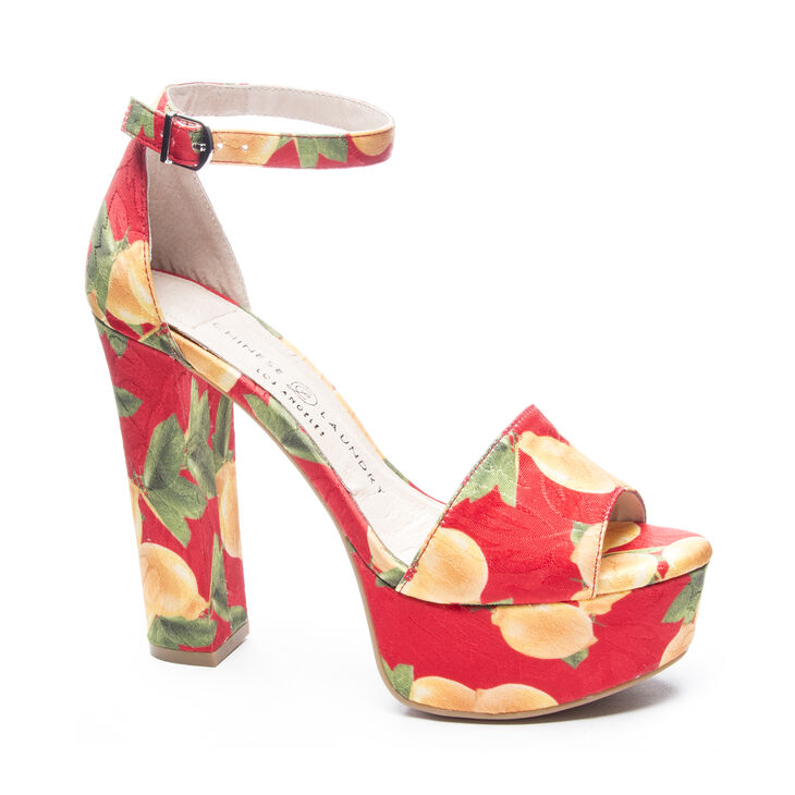 Chinese Laundry Avenue 2 Sandals in Red