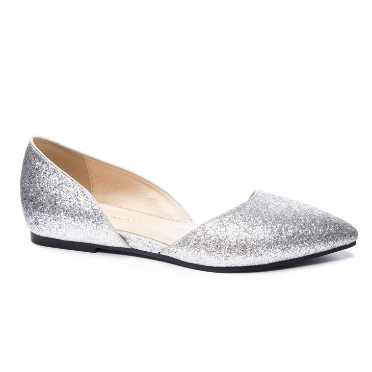 Chinese Laundry Hearty Ballet Flats in Platinum