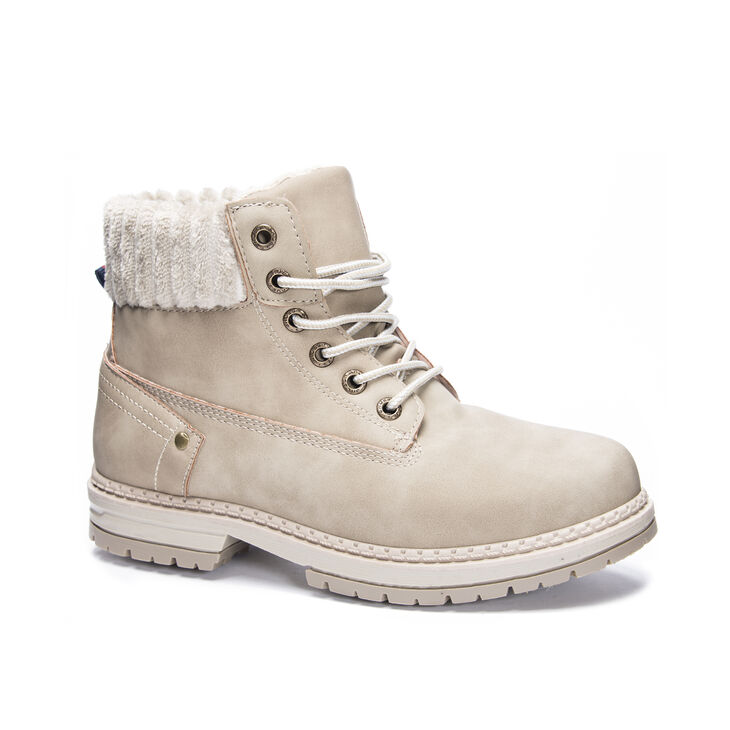 Chinese Laundry Alpine Boots in Stone