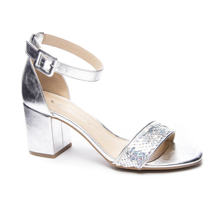 Chinese Laundry Jody Dress Sandals in Silver