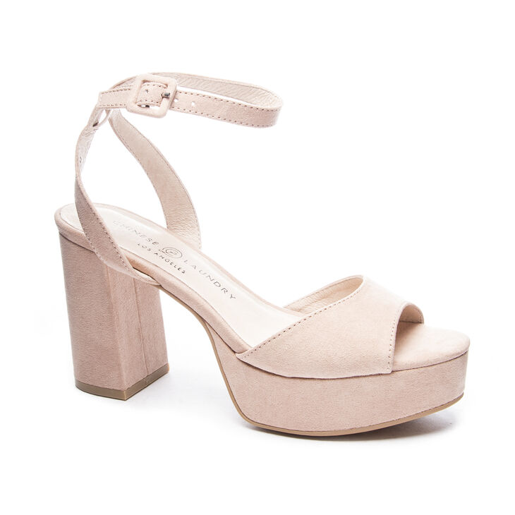 Chinese Laundry Theresa Sandals in Dark Nude