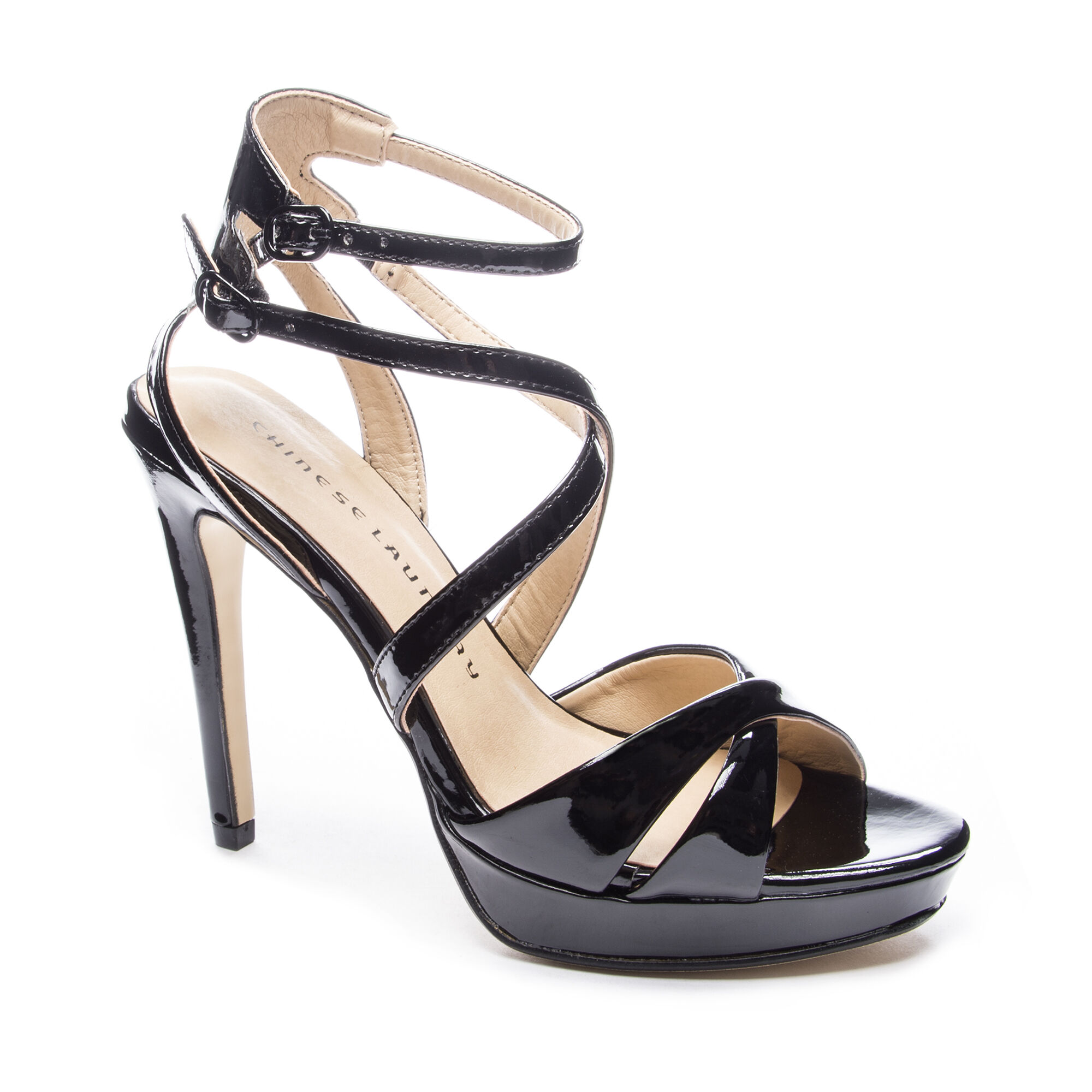 40c9001315 Chinese Laundry Highlight Strappy Patent Sandal