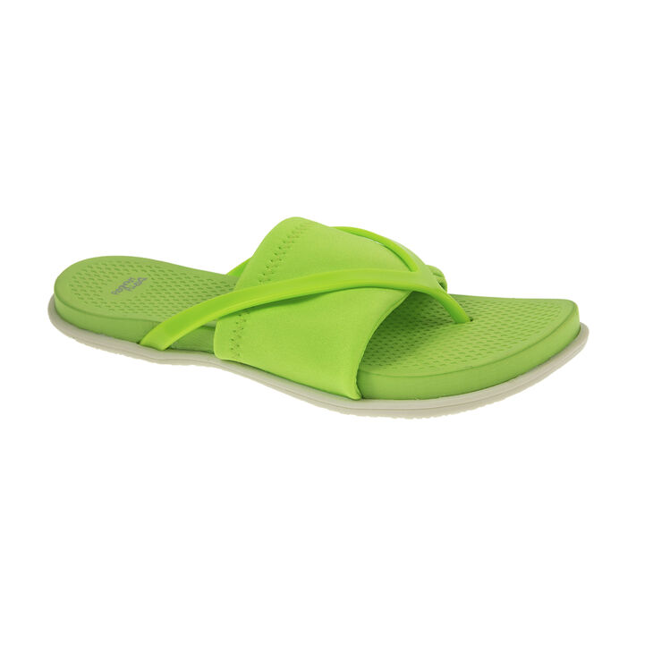 Chinese Laundry Awesome Thong Sandals in Neon Green