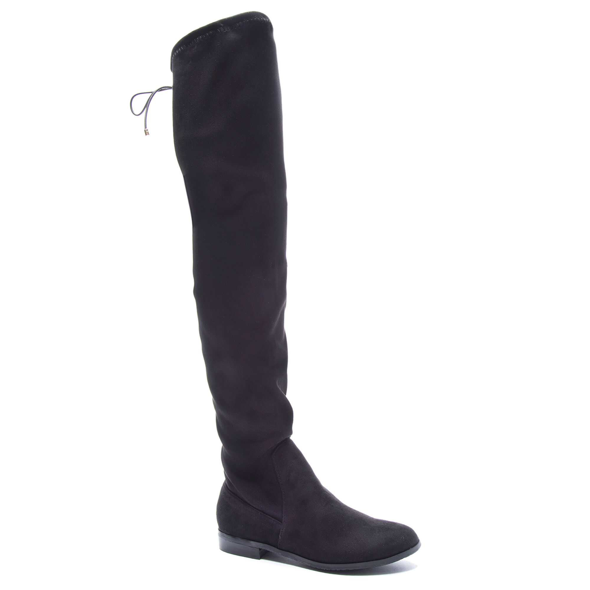 Rainey Suede Over The Knee Flat Boots Chinese Laundry