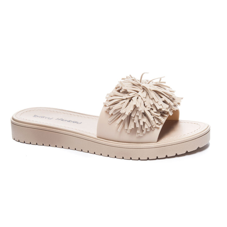 Chinese Laundry Paseo Sandals in Natural | Fringe