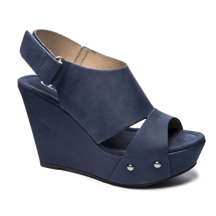 Chinese Laundry Cutey Wedges in Navy
