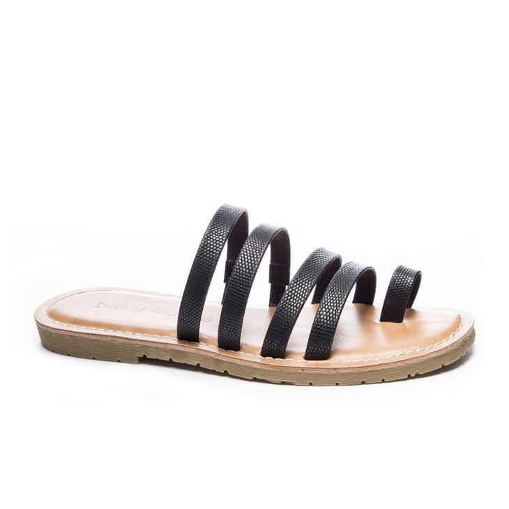 Chinese Laundry Ekia Thong Sandals in Black